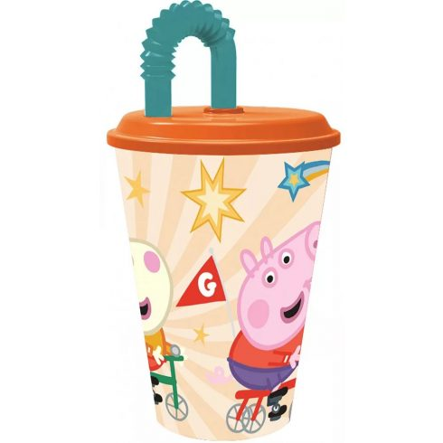 Hello Kitty szívószálas pohár