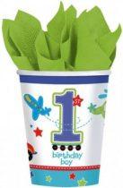Első születésnapi parti pohár (8 db-os)