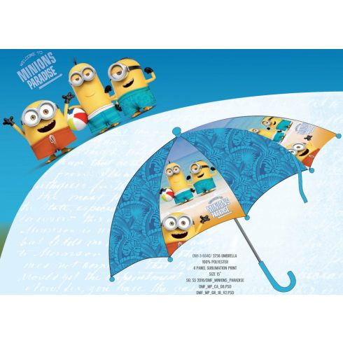 Minions gyerek esernyő