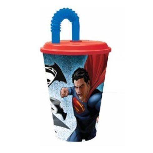 Batman vs. Superman szívószálas pohár