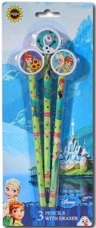 Disney Jégvarázs grafit ceruza+radír