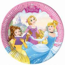 Disney Hercegnők papírtányér (8 db-os)