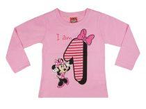 Disney Minnie szülinapos póló - 1 éves