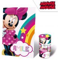 Disney Minnie plüss takaró