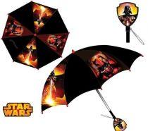 Star Wars gyerek esernyő mintás fogantyúval