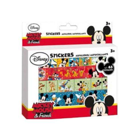 Disney Mickey 65 darabos csillámos matrica szett