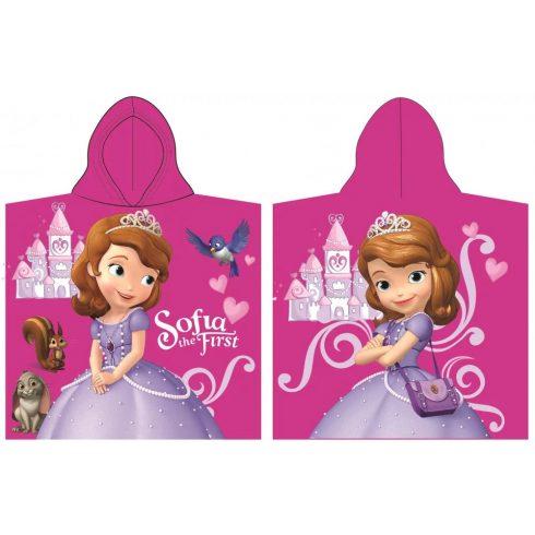 Disney Szófia hercegnő poncsó