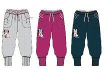 Disney Minnie bolyhos szabadidő nadrág / melegítő nadrág 98-134 cm)
