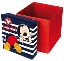 Mickey játéktároló / ülőke