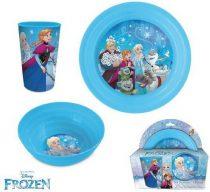 Disney Jégvarázs étkészlet / reggeliző szett
