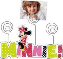Disney Minnie fa képtartó