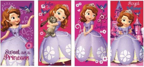 Disney Szófia hercegnő fürdőlepedő - strand törölköző