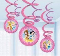 Disney Hercegnők szalag dekoráció (6 db-os)