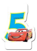 Disney Verdák számgyertya / tortagyertya