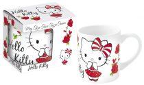 Hello Kitty porcelán bögre díszdobozban
