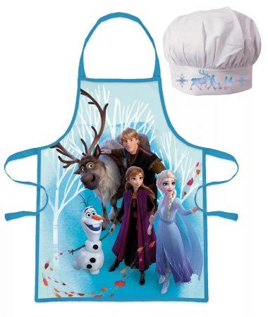 Disney Jégvarázs gyerek kötény szett