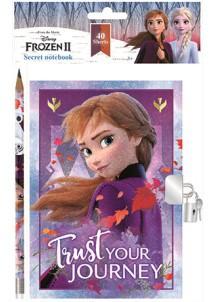 Disney Jégvarázs emlékkönyv, napló + toll