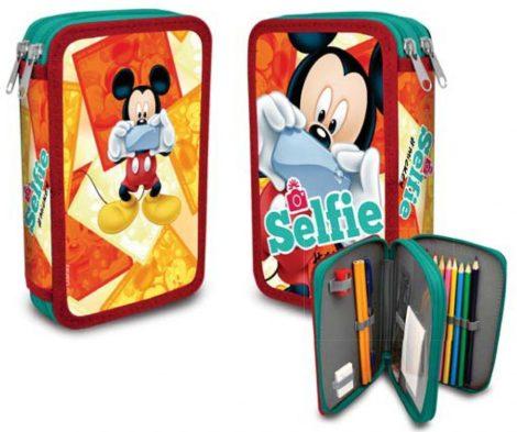 Disney Mickey 2 emeletes töltött tolltartó